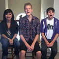 Kirstie Maldonado, Scott Hoying and Mitch Grassi